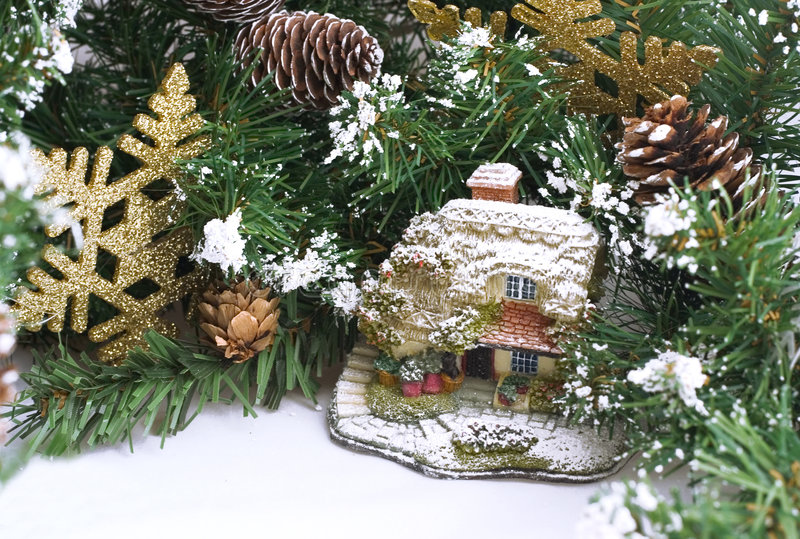 La poca Navidad personal imágenes de archivo libres de regalías