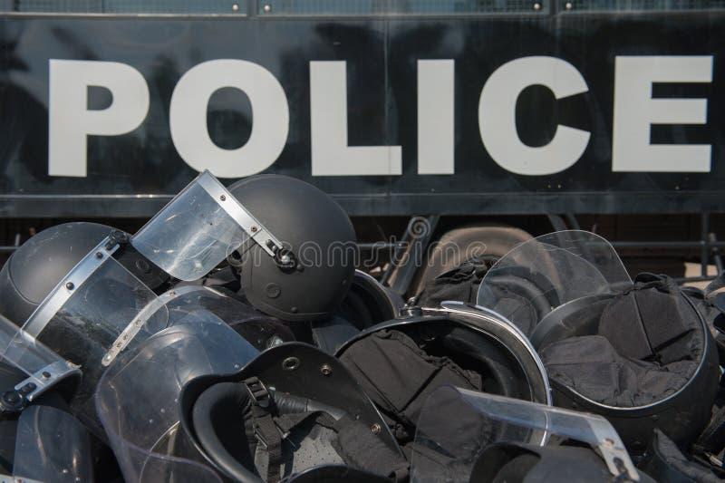 La police anti-émeute photos stock