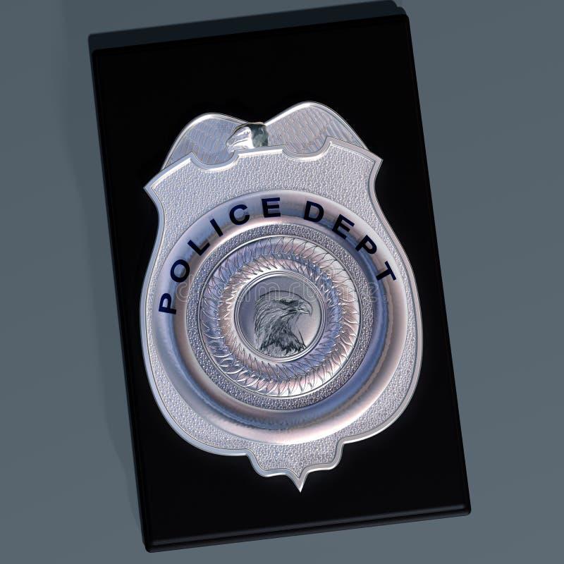 La police badge illustration de vecteur