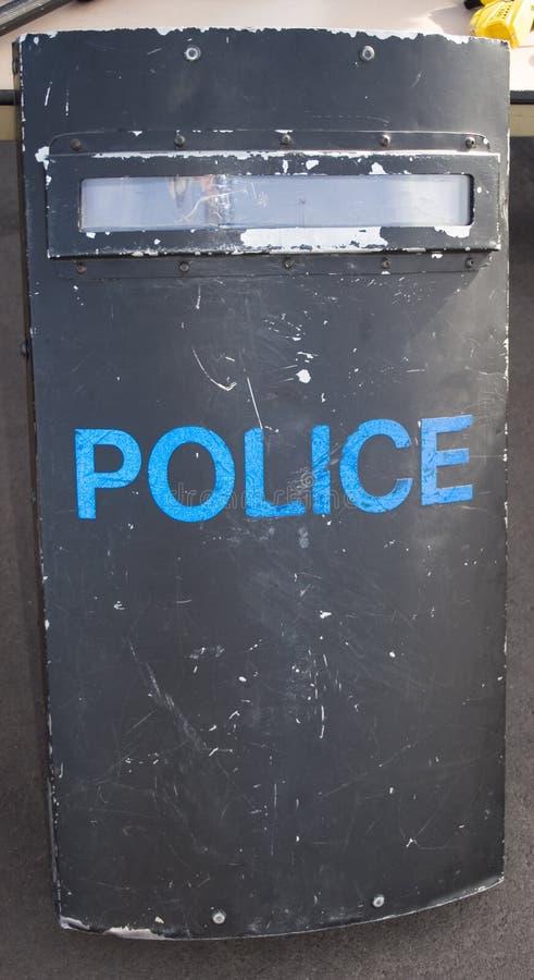 La police s'ameute l'écran protecteur images libres de droits