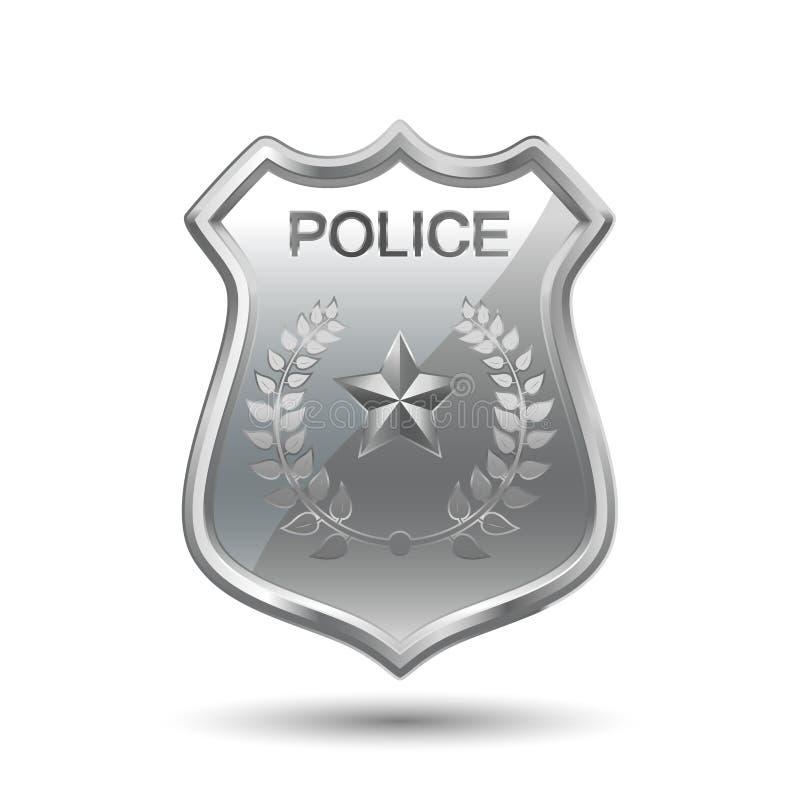 La polizia badge royalty illustrazione gratis