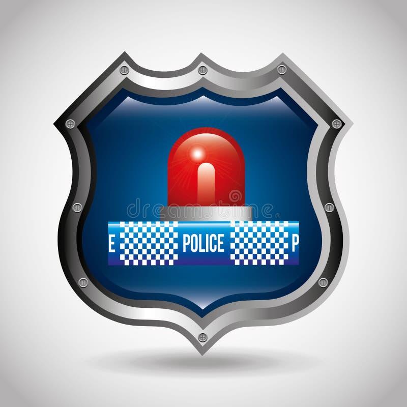 la polizia dello stato progetta illustrazione di stock