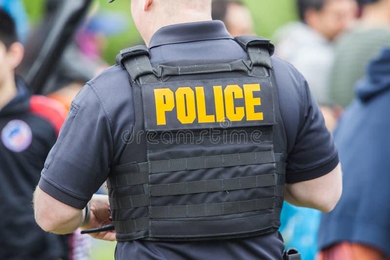 La polizia uniforma fotografie stock libere da diritti