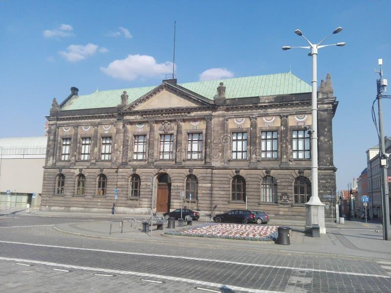 """La Pologne, """"de PoznaÅ - le Musée National dans le """"de PoznaÅ photographie stock libre de droits"""