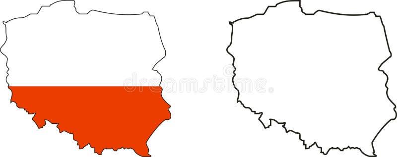 La Pologne illustration libre de droits