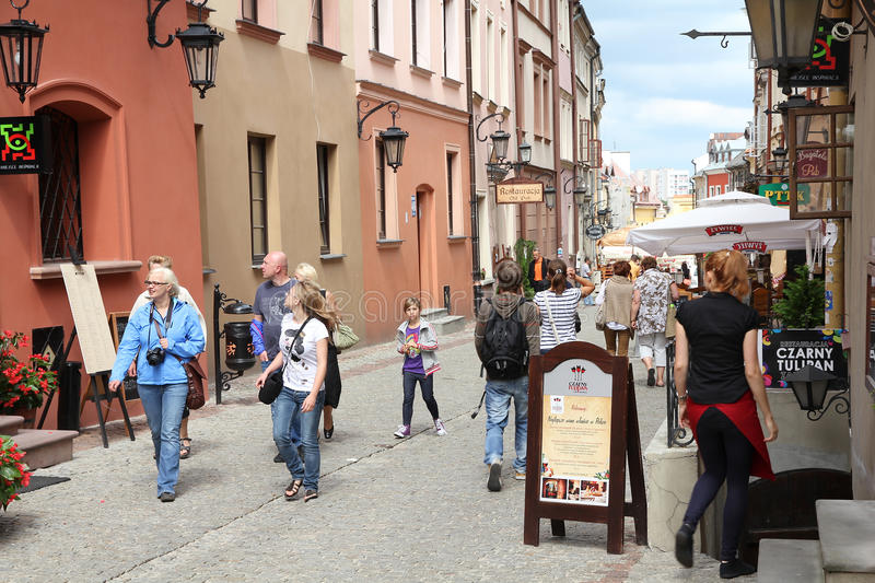 La Pologne - Lublin photos stock