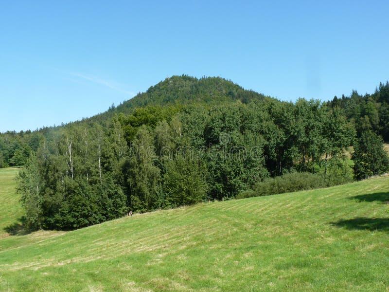 La Pologne, Rudawy Janowickie - la montagne de Ra de ³ de Na GÃ de ¼ de KrzyÅ image stock
