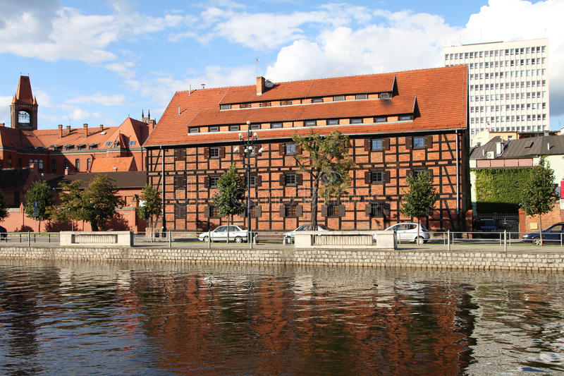 La Polonia - Bydgoszcz fotografia stock
