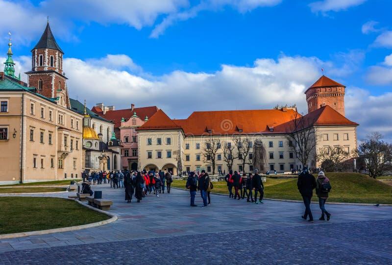 La Polonia, Cracovia fotografia stock