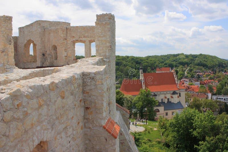 Download La Polonia, Kazimierz Dolny, Le Rovine Del Castello Fotografia Stock - Immagine di chiamata, posto: 55362520