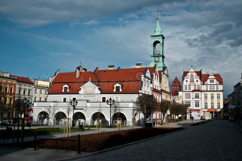La Polonia - Kluczbork immagine stock libera da diritti