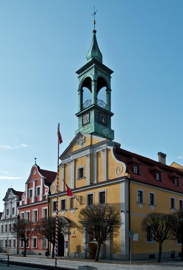 La Polonia - Kluczbork fotografia stock