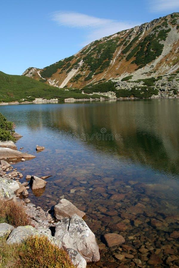 La Polonia, montagne di Tatra fotografia stock libera da diritti