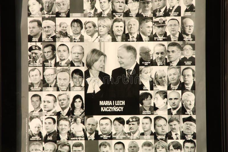La Polonia si addolora. immagini stock libere da diritti