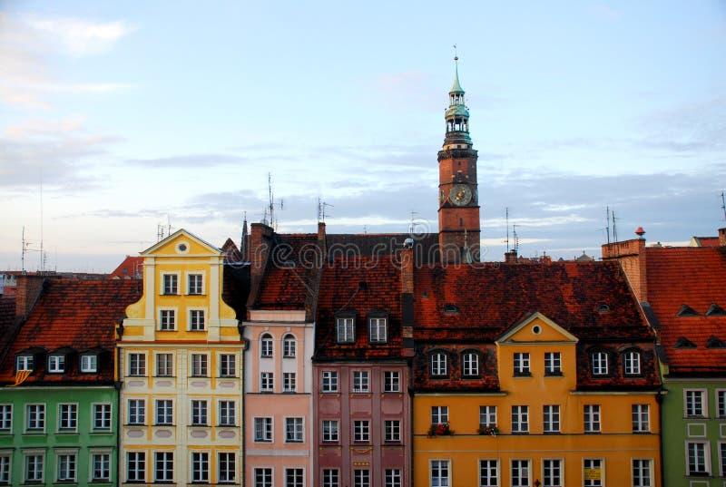 La Polonia storica immagine stock