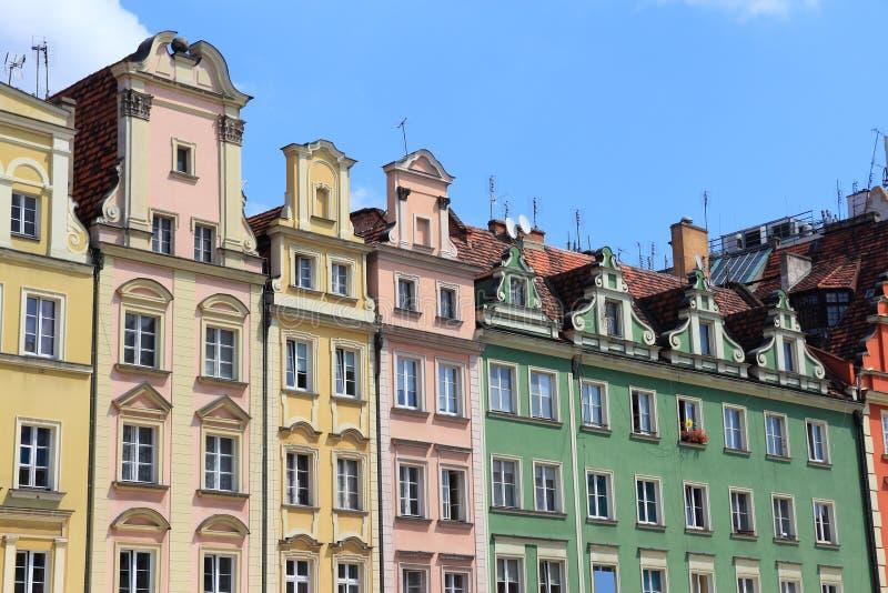 La Polonia - Wroclaw fotografia stock