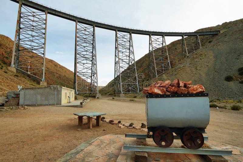 La Polvorilla, la Argentina del viaducto fotografía de archivo libre de regalías