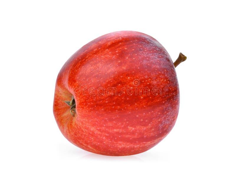 La pomme rouge fraîche entière de gala isloated sur le blanc photo stock