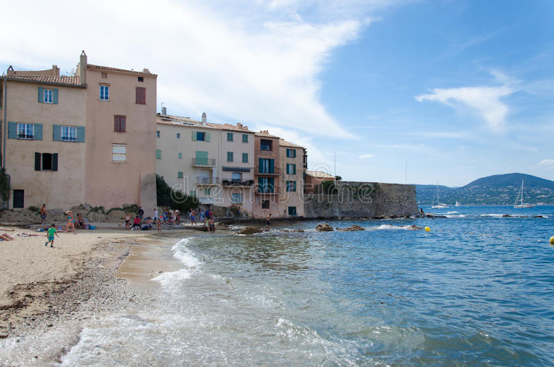La ponche in Saint Tropez stock afbeeldingen