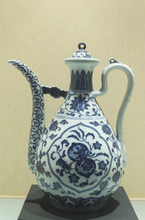 La porcelaine chinoise antique photographie stock