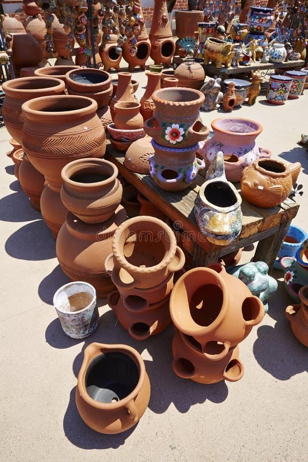 La porcellana messicana e handcraft fotografia stock