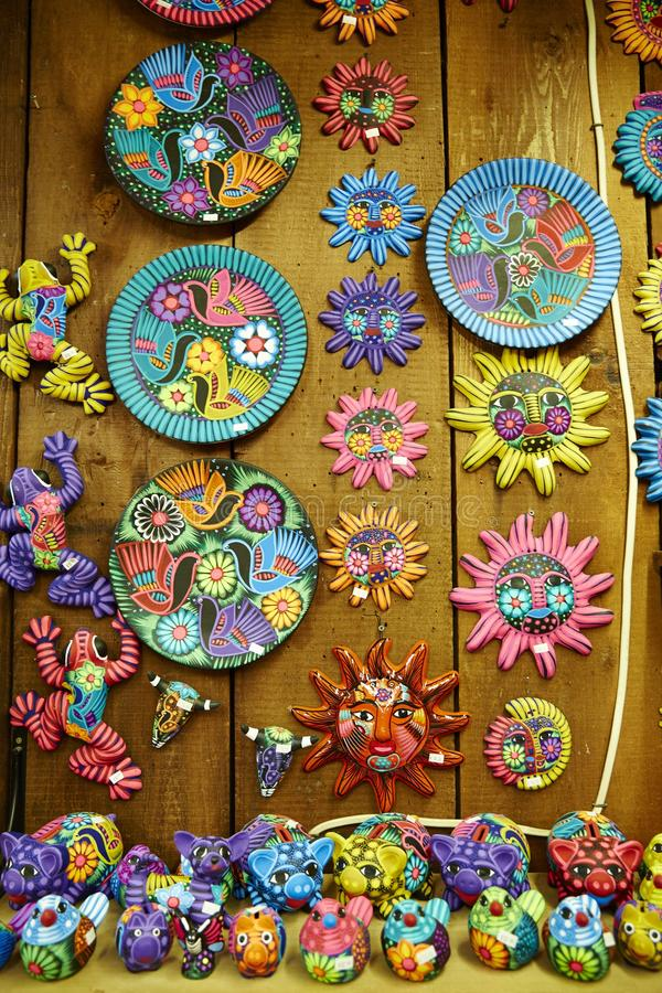 La porcellana messicana e handcraft immagine stock