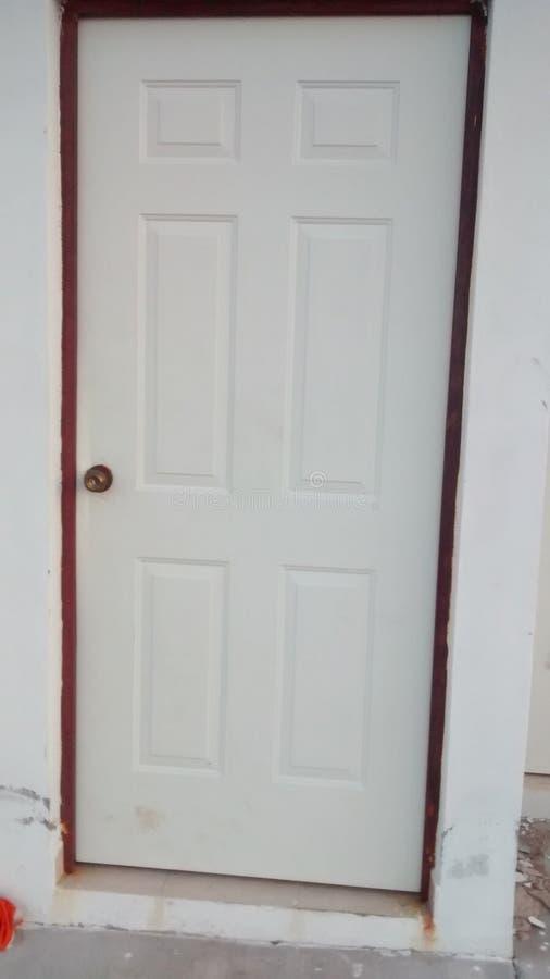 La porta fotografie stock libere da diritti