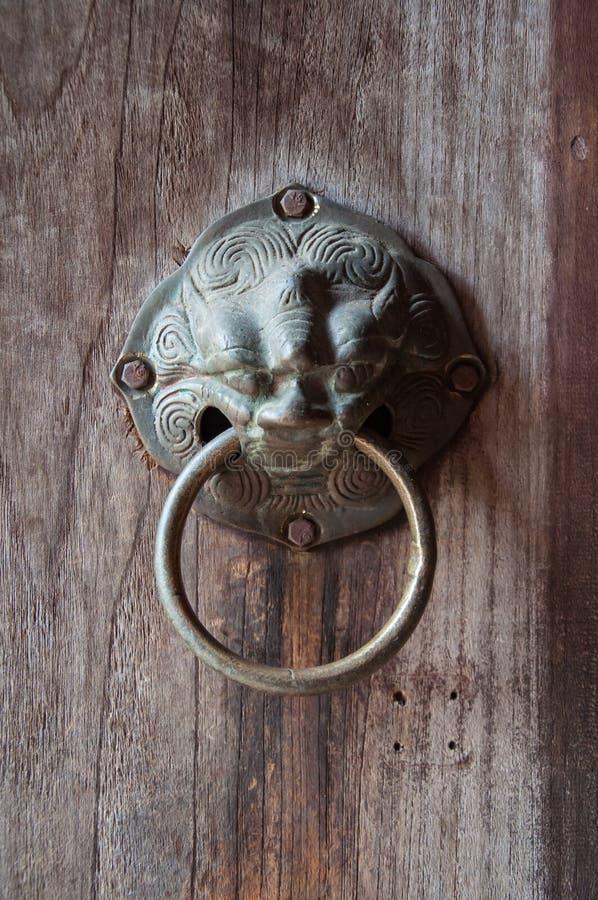 La porta antica di colpo fotografia stock