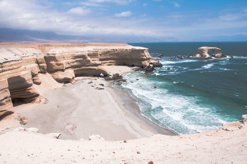 La Portada no Chile fotografia de stock