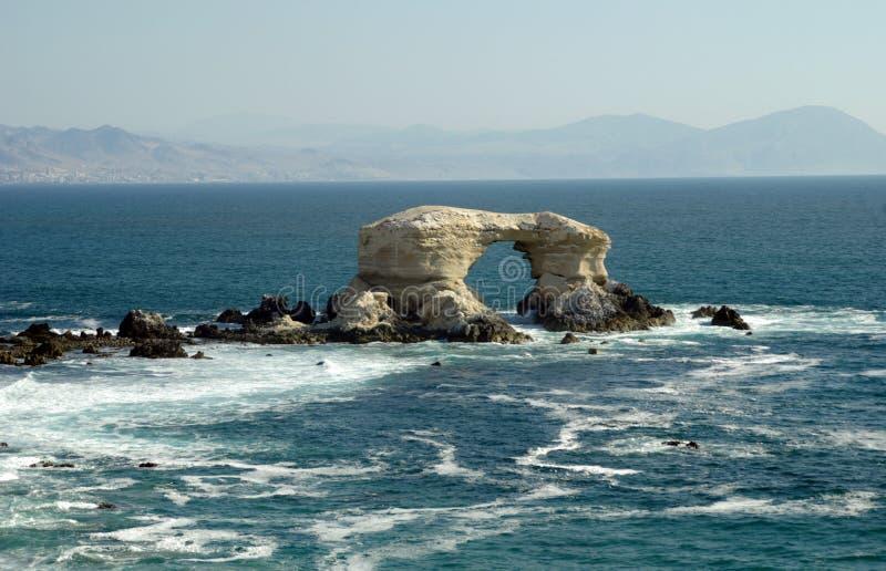 La Portada, o Chile fotografia de stock royalty free