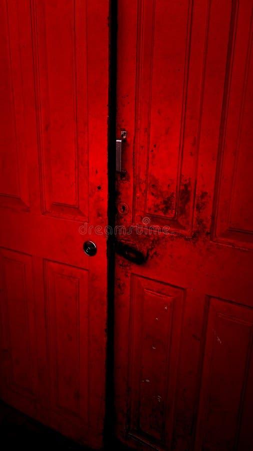 La porte à l'enfer photo stock