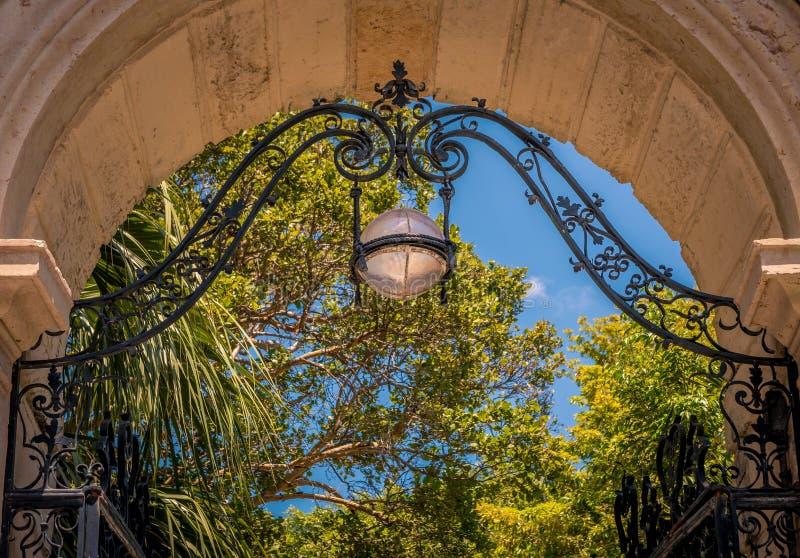 La porte à la gloire photo libre de droits