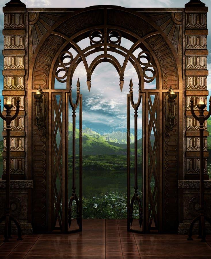 La porte illustration de vecteur