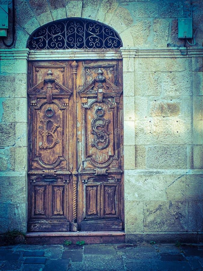 La porte photo libre de droits