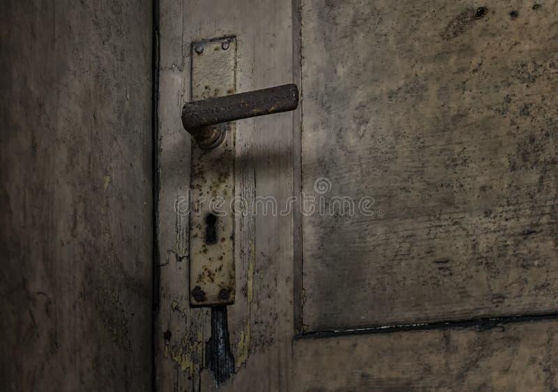 La porte d'un endroit perdu photo libre de droits
