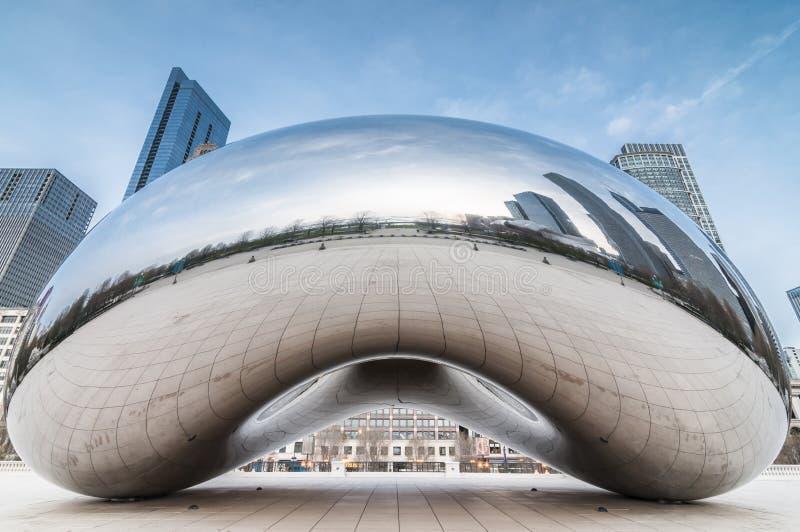 La porte de nuage (a.k.a le haricot Chicago) images stock