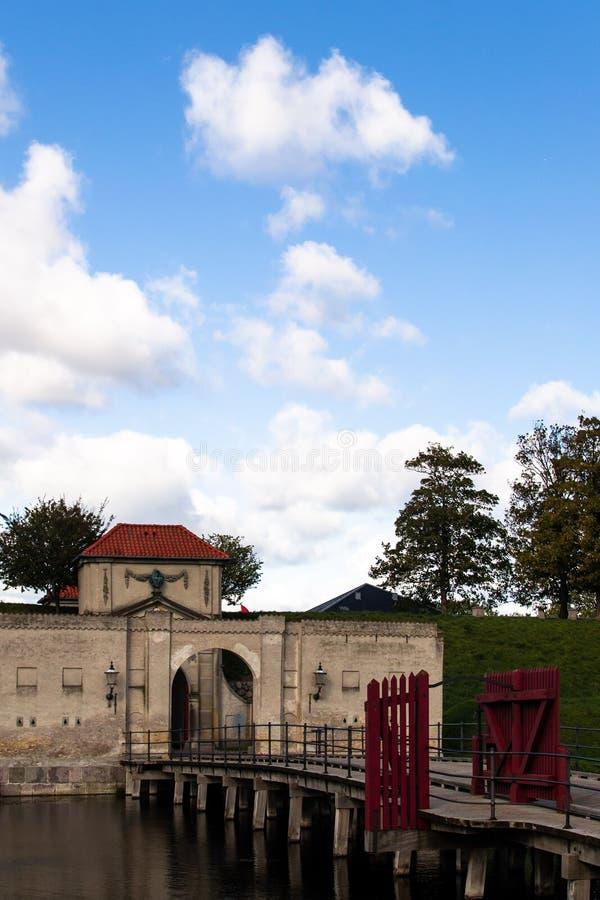 La porte du roi, Kastellet copenhague photo libre de droits