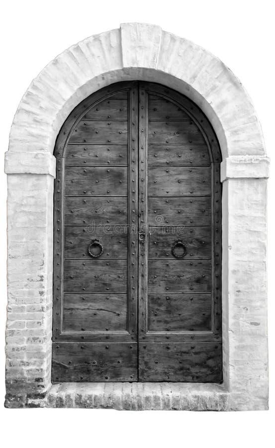 La porte en bois d 39 entr e dans une vieille maison for Restaurer une vieille porte en bois