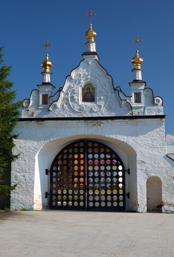 La porte sainte du nord Tobolsk Kremlin Tobolsk Russie images stock