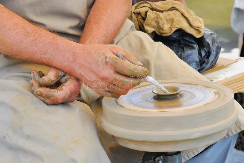 La poterie handcraft le plan rapproché photos libres de droits