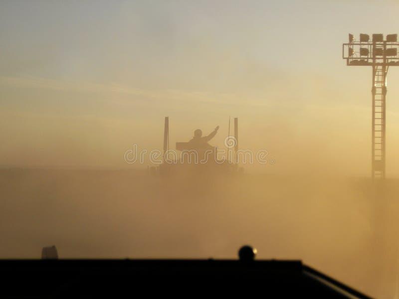 La poussière afghane photographie stock libre de droits