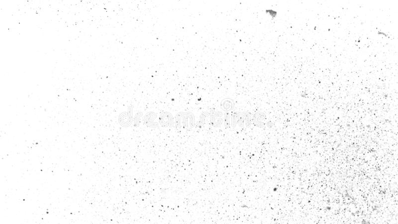 La poussière blanche de cru a rayé le fond, vieille texture affligée recouvre l'espace pour le texte image libre de droits