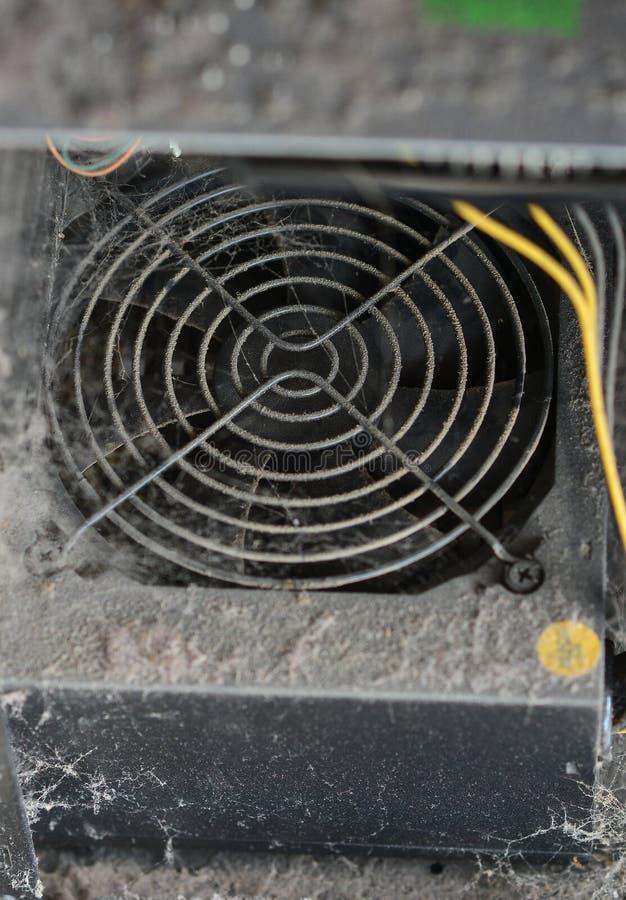 La poussière dans votre ordinateur photos libres de droits