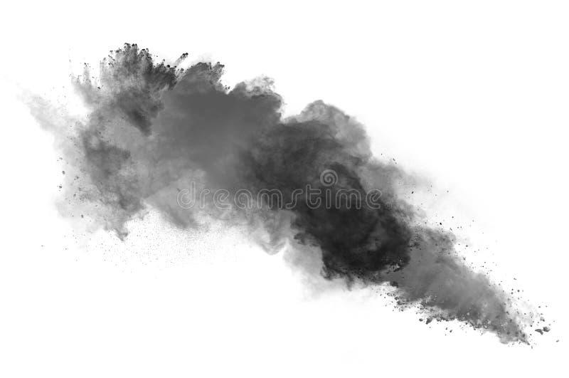 La poussière noire photographie stock libre de droits