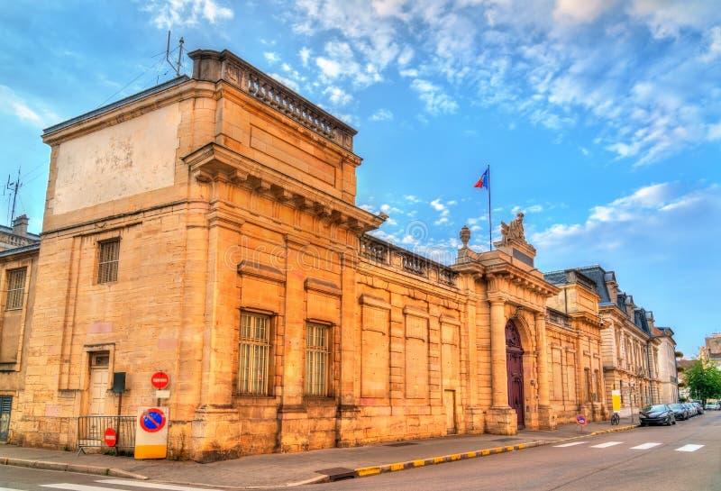 La préfecture de ` ou de département de Cote-d à Dijon, France image libre de droits