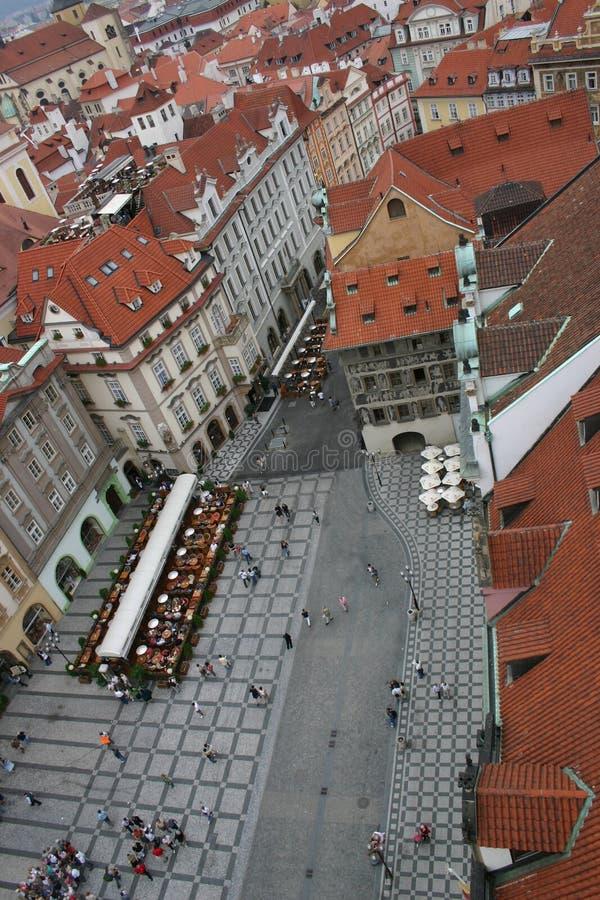 La Praga del cielo, v imagen de archivo