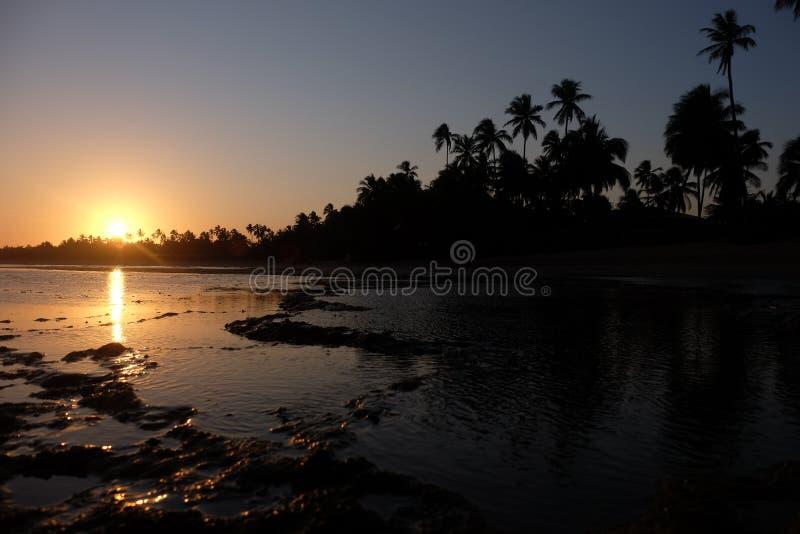 La Praia fa il proprio forte - Bahia, Brasile fotografia stock