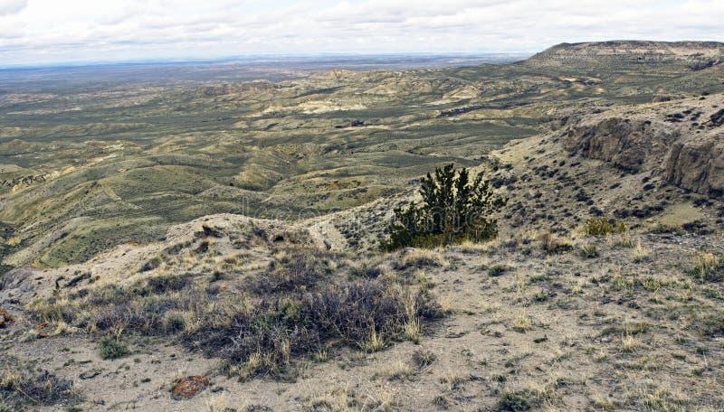 La prairie du Wyoming. photos stock