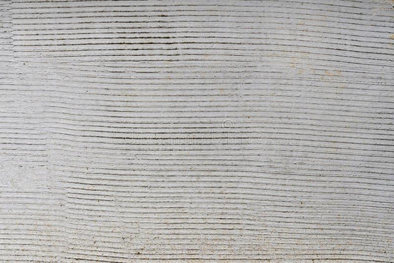 La preparación de la nueva pared del cemento se preparó para tejar fotografía de archivo