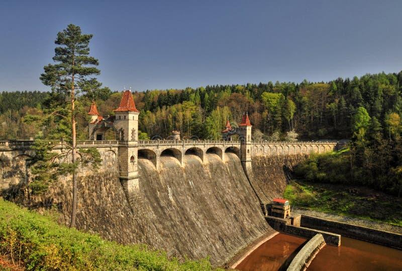La presa Les Kralovstvi fotografía de archivo